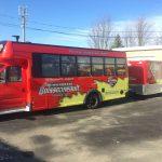 Remorquage Boissonneault - Autobus de transport d'urgence